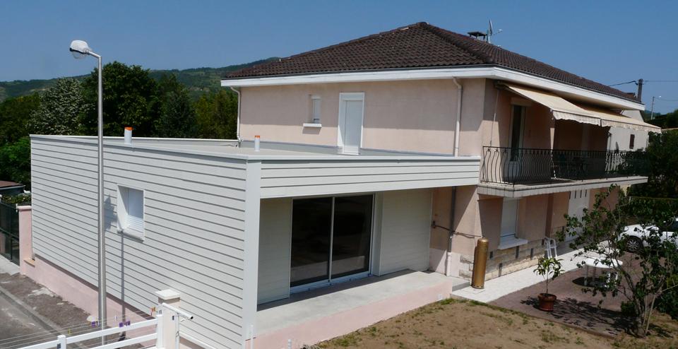 Les possibilités pour agrandir une maison